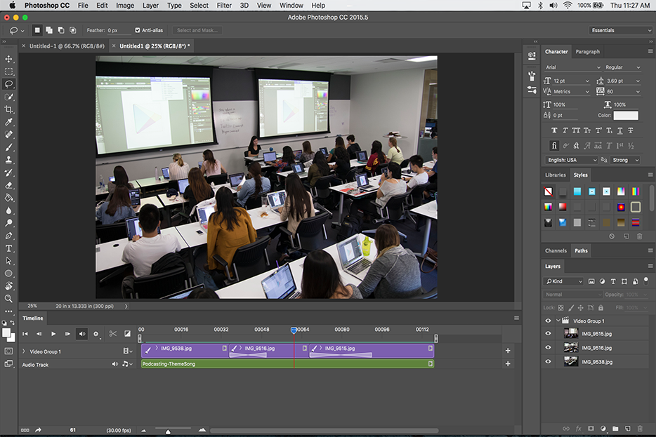 Create a Slideshow in Photoshop – Annenberg Digital Lounge