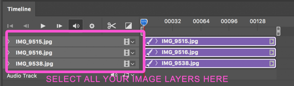 select-image-layers-in-timeline