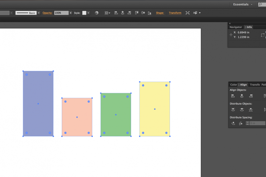 How to use the Align Panel in Illustrator and InDesign