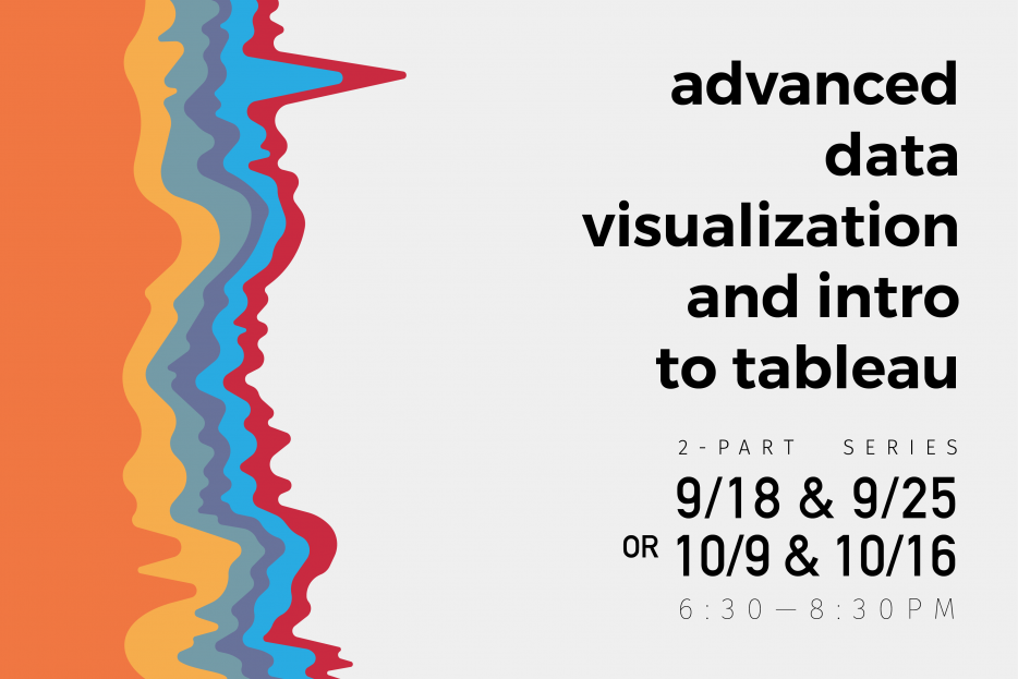 Advanced Data Visualization and Intro to Tableau, Part 2