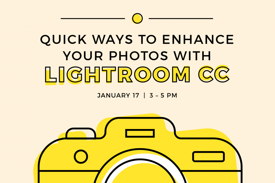 Quick Ways to Enhance Your Photos with Lightroom CC – Annenberg