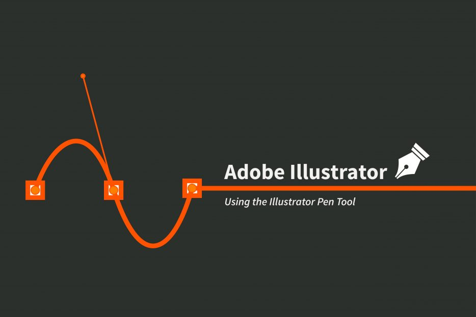 Drawing Lines With The Pen Tool : Illustrator pen tool u annenberg digital lounge