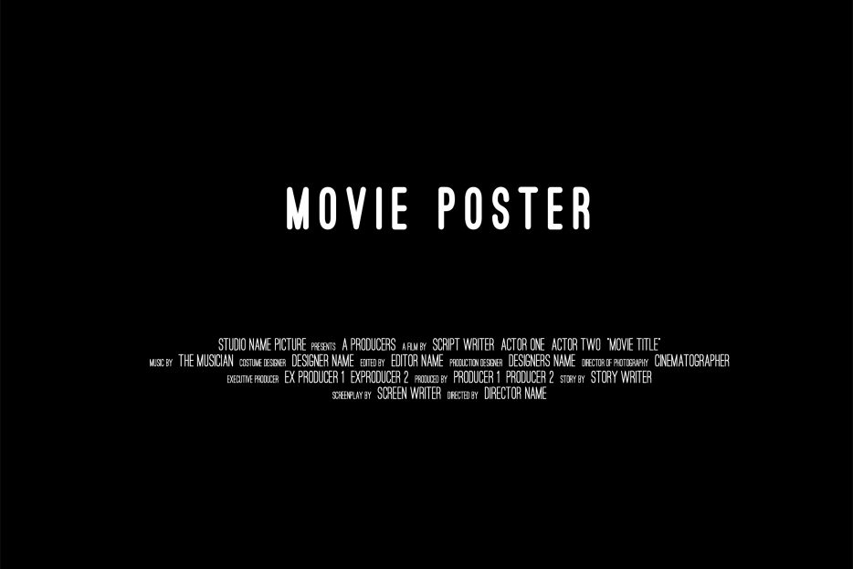 Make A Movie Poster In Photoshop Annenberg Digital Lounge